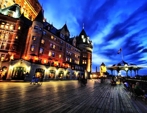 Quebec City Blue Hour