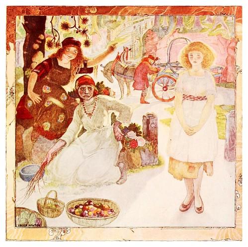 014-La niña buena se despide-Polish fairy tales 1920-Cecile Walton