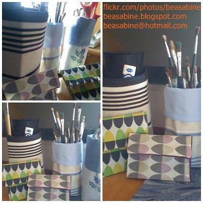 moneders i bossetes de roba fetes amb retalls by beasabine