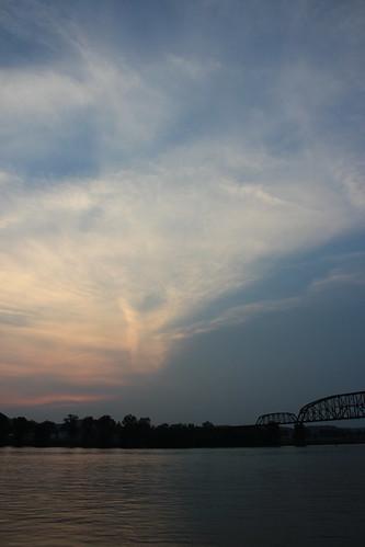 sunset us wv westvirginia ohioriver pointpleasant