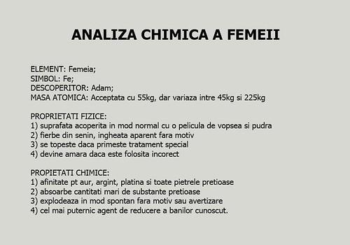 analiza chimica a femeii …                             <br/>             <span class='smalltext lighttext'>               <a href=