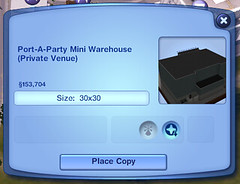 Port-A-Party Mini Warehouse (Private Venue)
