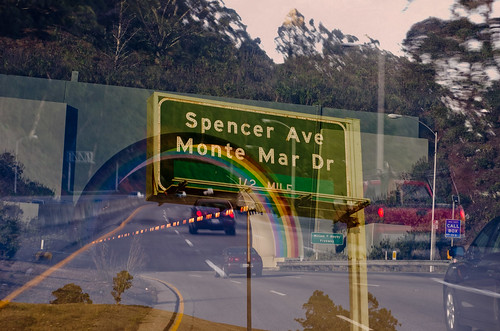 Spencer Ave sign by shioshvili