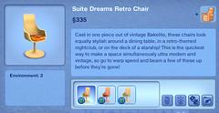 Suite Dreams Retro Chair