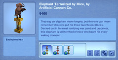 Elephant Terrorized by Mice by Artificial Cannon Co.