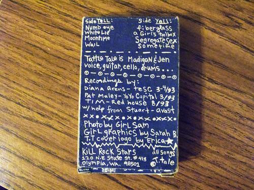 Tattle Tale cassette 0009