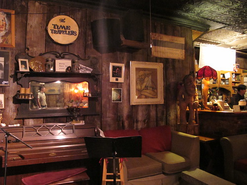 The stage area at the Neutral Ground Coffeehouse. Photo by Briana Prevost