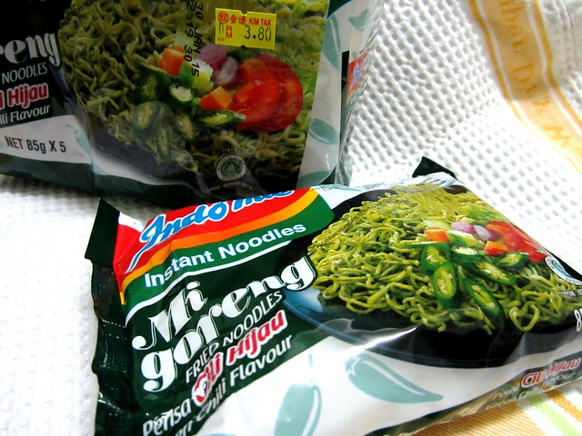 Indomie green chili flavour 1