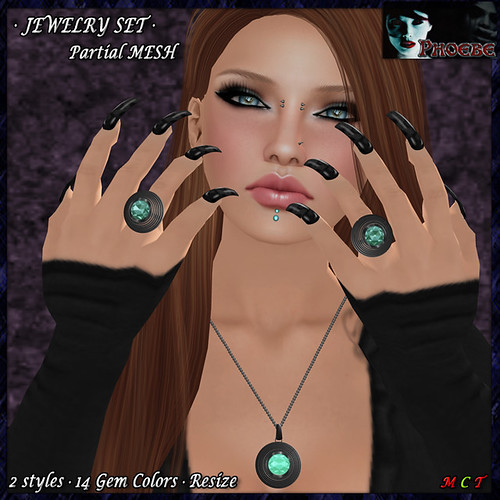 OFFER! *P* Nadia Jewelry Set ~Platinum~ (P-MESH)