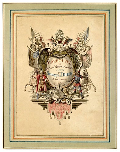 001-Carrousel des galans Maures de Grenade…1685- Jean Berain- INHA
