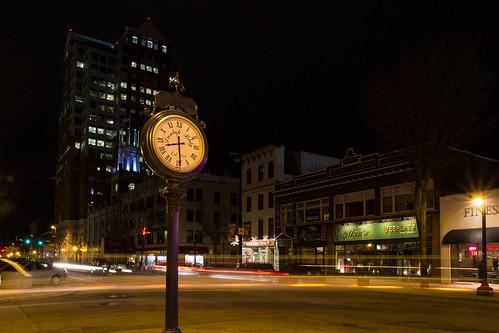Elm Street Clock