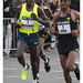 Rotterdam Marathon 2014 - Winner Kipchoge and #2 Koech by AurelioZen