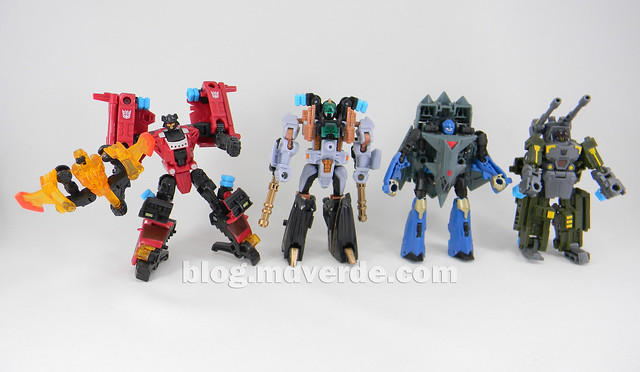 Transformers Undertow con Waterlog Power Core Combiners - modo robot vs otros PCC