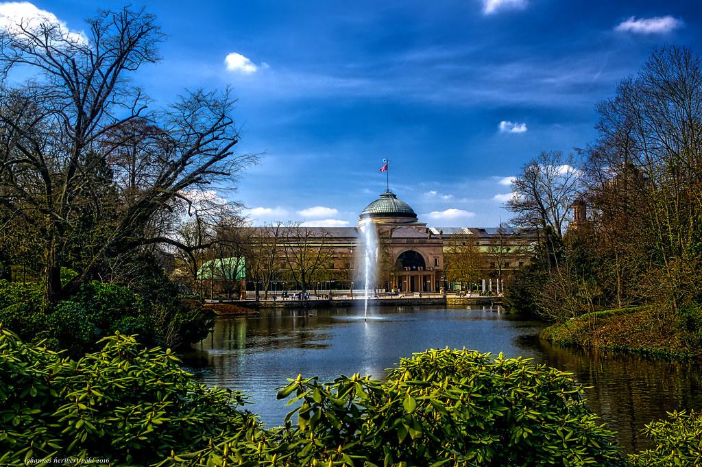 Wiesbaden Kurpark und Kurhaus