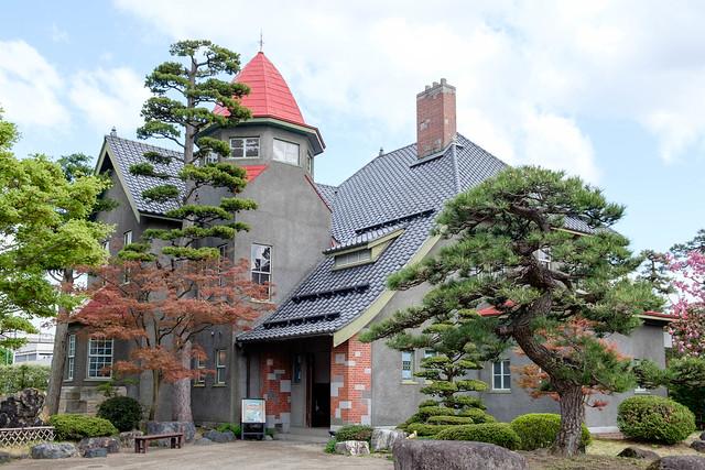 藤田記念庭園の喫茶店