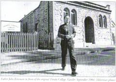 Rev John Kinsman, founder of Trinity College, 1984