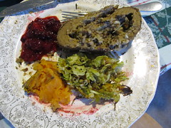 Thanksgiving meal 2011 (Vegetarian)