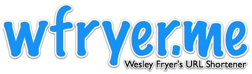 wfryer.me - Wesley Fryer's URL Shortener