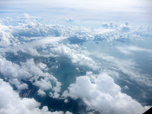 Somewhere over the Bali Sea