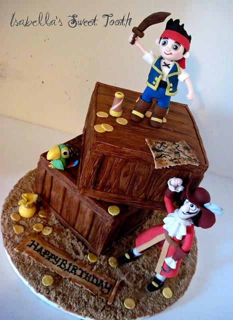 jake and the neverland pirates cake - photo #25