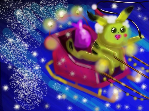 Pokemon's Sleigh Ride - Pokemon  challenge