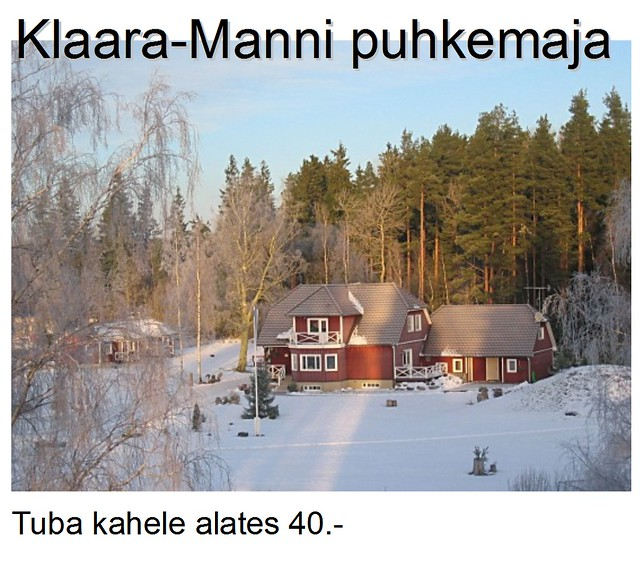 Klaara-Manni eripakkumine 2011