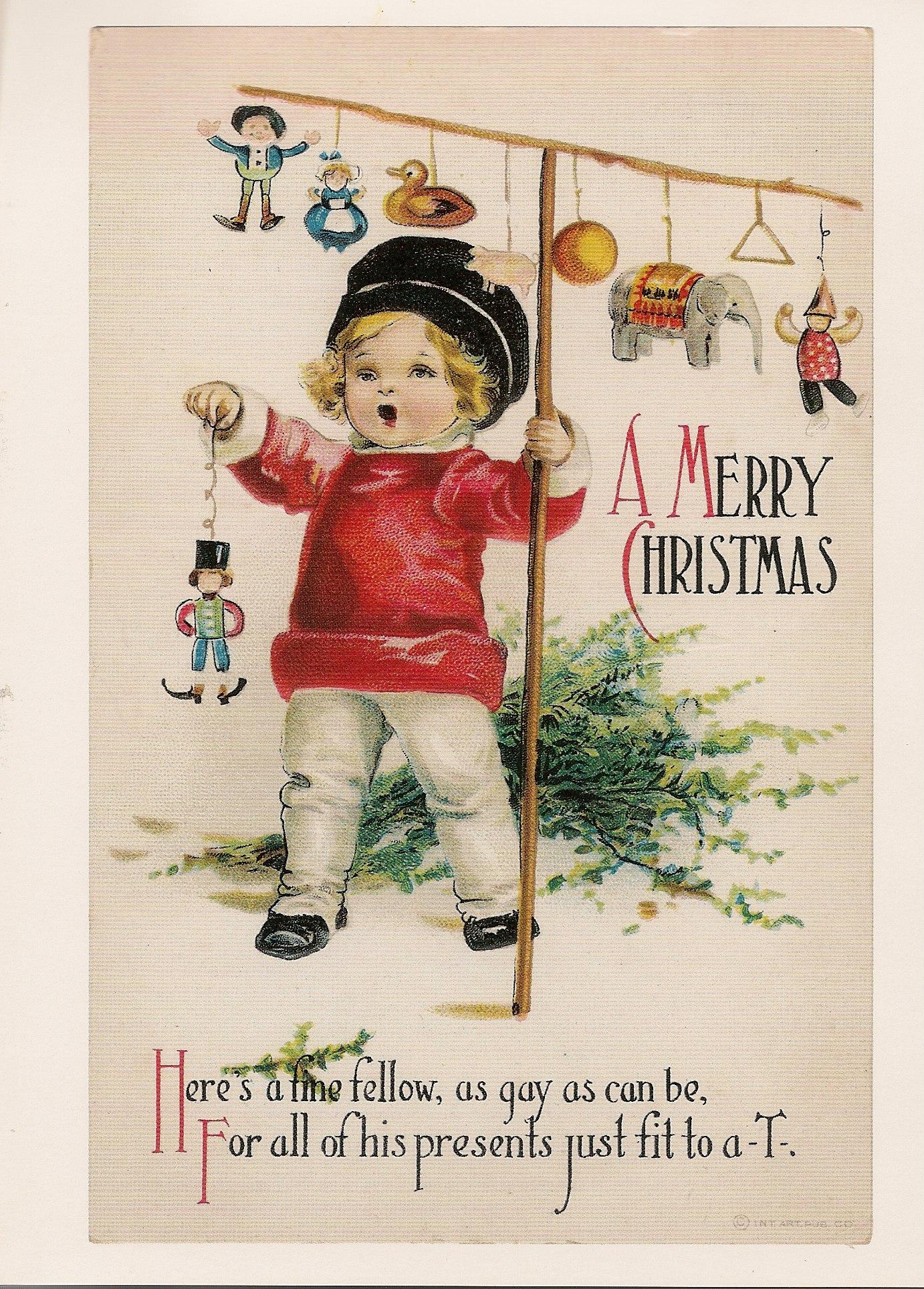 Children At Christmas