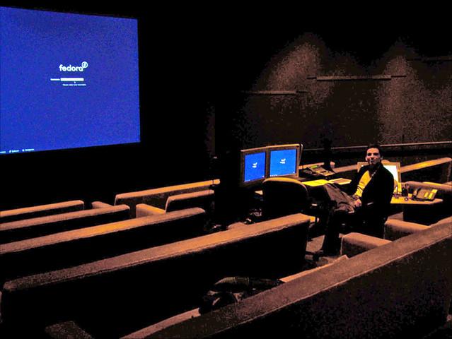 pixar screening room