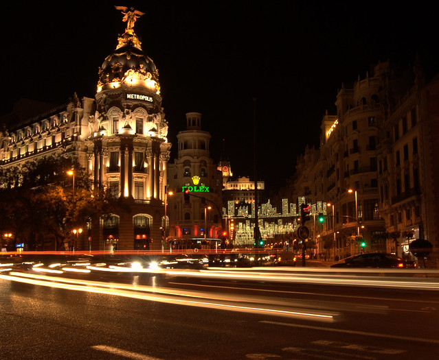 Madrid (Long exposure)