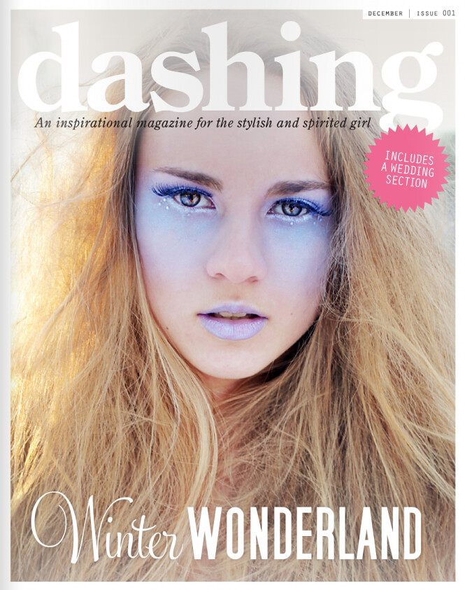 dashing magazine front cover