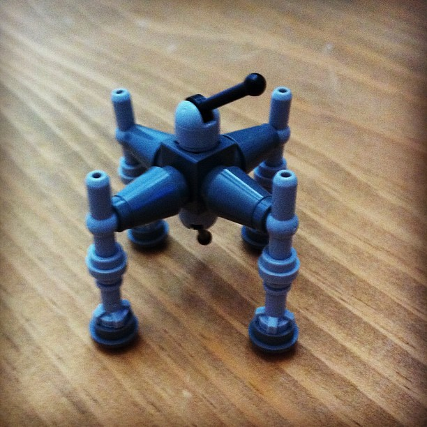 Project 365 336/365: Lego Star Wars Advent Calendar: Day 4. Homing Spider Droid. Sometimes referred to as the Spider Walker, was a droid walker manufactured for anti-vehicular combat by the Commerce Guild before and during the Clone Wars. #starwars #adven