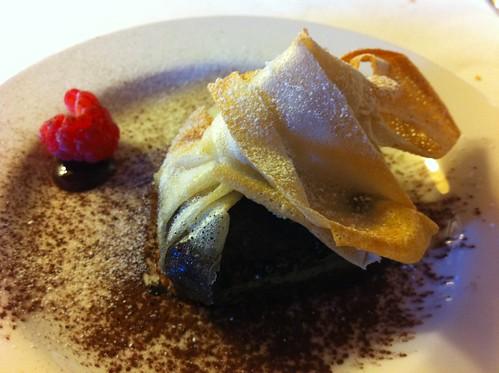Cantonigròs | Ca l'Ignasi | Hatillo tibio de trufa de chocolate de Vic