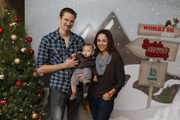Actress Autumn Reeser  husband Jesse and son FinnAutumn Reeser Husband