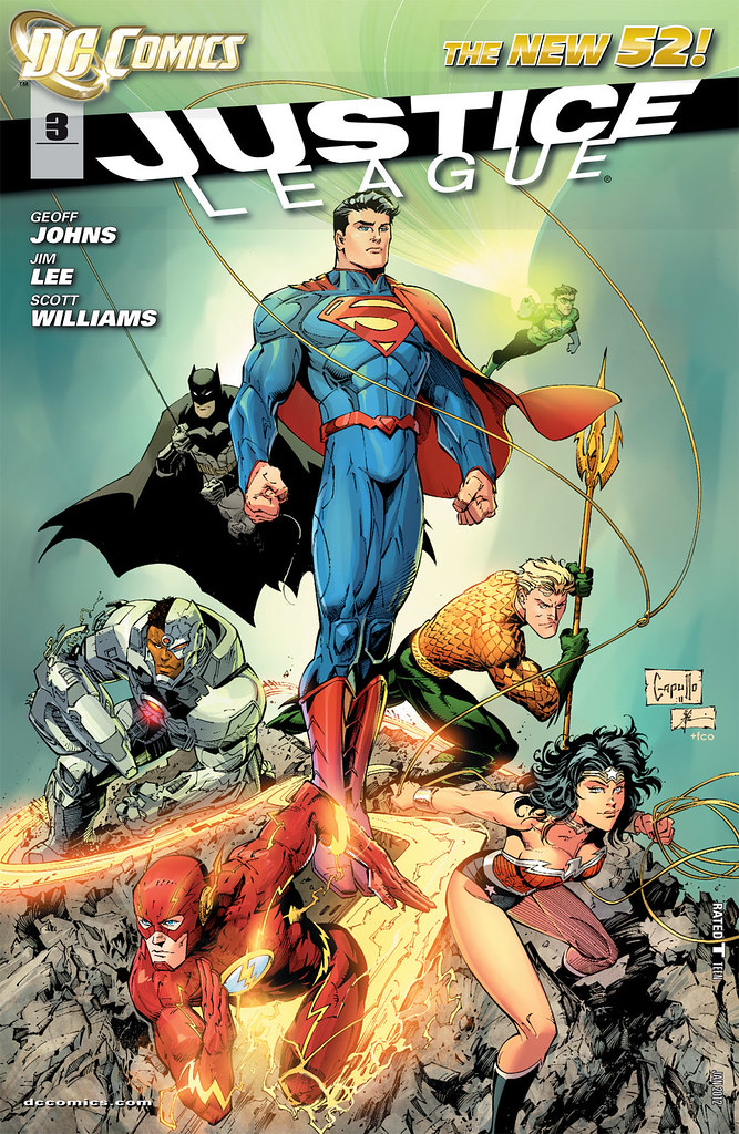 Justice League 3 variant cover by Greg Capullo