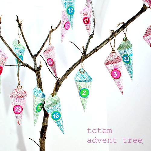 totem advent tree
