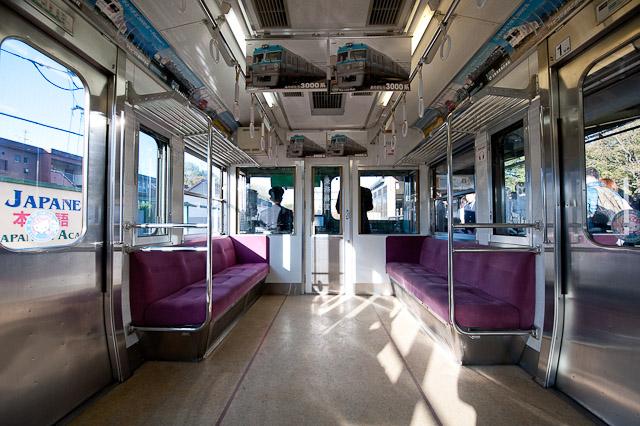 京王電鉄井の頭線 3000系 3028F 最終営業列車車内 1122