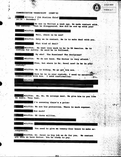 The Establishing Shot: The Dark Knight Rises leaked CIA Transcript - Viral by Craig Grobler