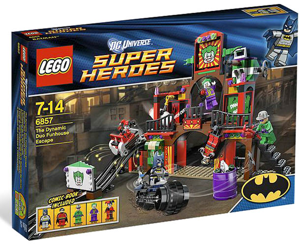 LEGO Super Heroes 6857 - The Dynamic Duo Funhouse Escape - Box