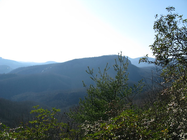 View from Bennet Gap Trail