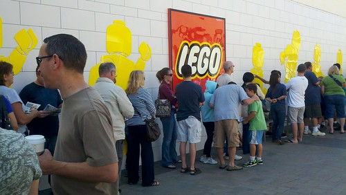 Lego store grand opening
