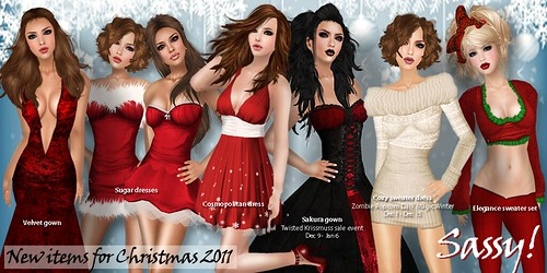 Sassy! New items for Christmas 2011