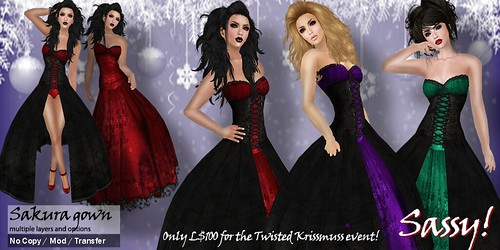 Sakura gown for Twisted Krissmuss