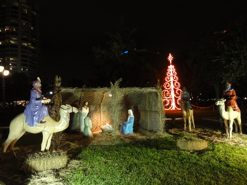 Saint Petersburg Nativity Scene