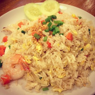 Seafood Fried Rice at Nakhon kitchen
