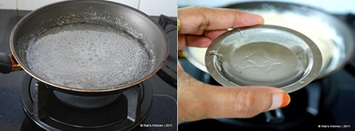 How to make kaju katli step 2