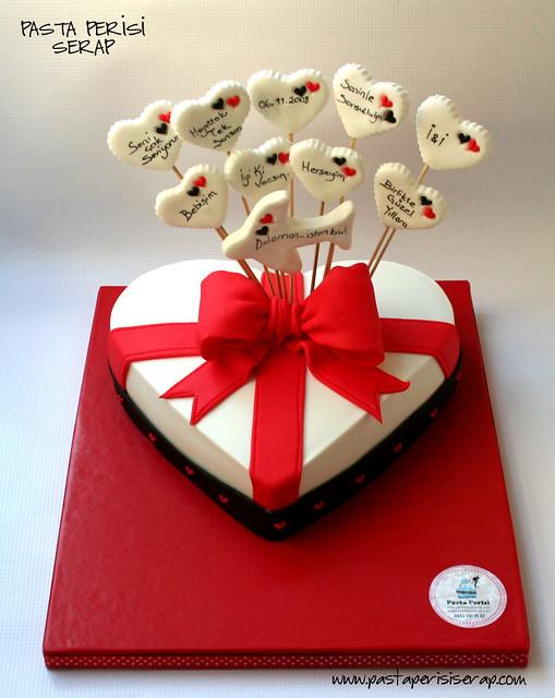 hesiye paketi pastası