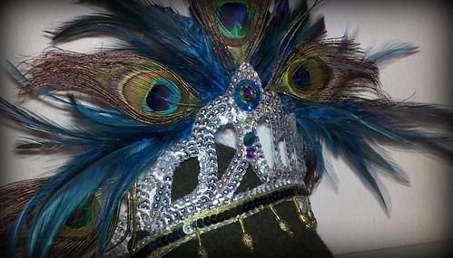 Peacock Princess Crown by davisturner