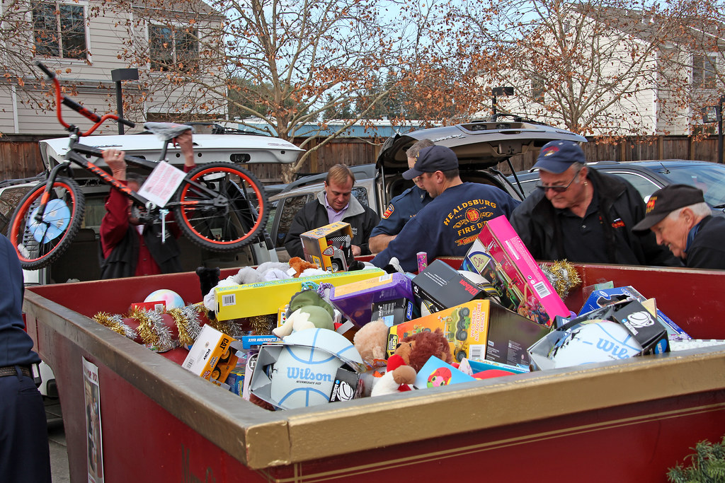 Toys for Tots donations drive