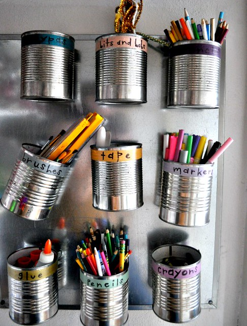 Tin Can Storage - Elsie Marley