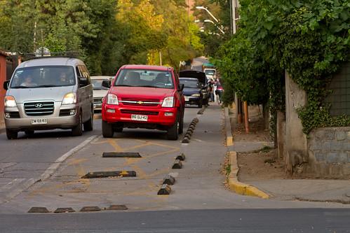 ¿Pista para peatones?
